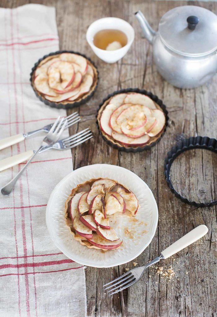 Gluten-free mini apple tarts