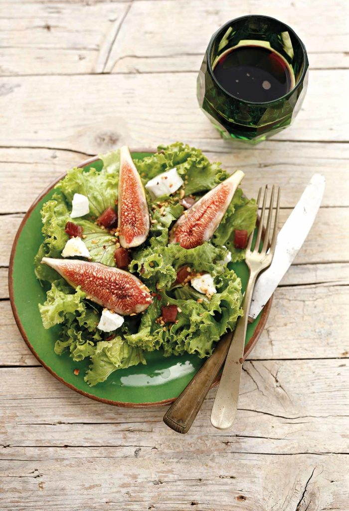 Fig and speck salad